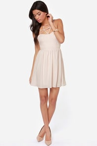 Got the Hots Cream Dress at Lulus.com!