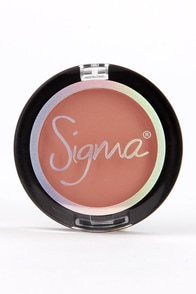 Sigma Heavenly Dark Peach Powder Blush at Lulus.com!