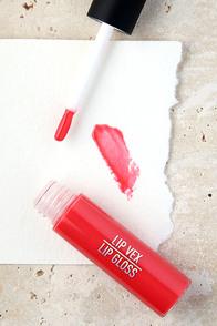 Sigma Lip Vex Vivid Coral Pink Lip Gloss at Lulus.com!
