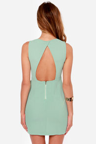 Wild Night Sage Green Dress at Lulus.com!