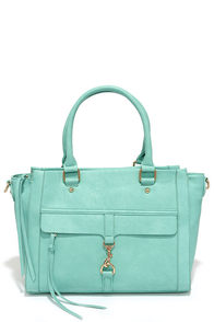 Spread Your Wings Turquoise Handbag at Lulus.com!