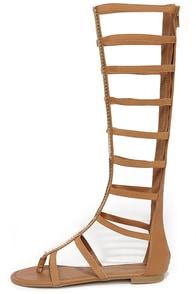 Cute Tan Sandals Tall Gladiator Sandals 39 00