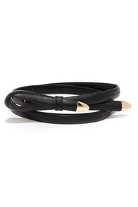 Playful Purpose Black Belt at Lulus.com!