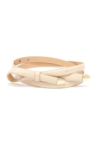 Playful Purpose Beige Belt at Lulus.com!