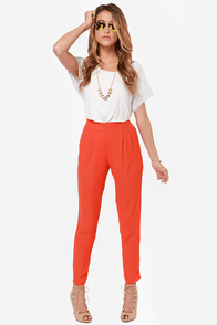 Give It Your All Red Pants at Lulus.com!