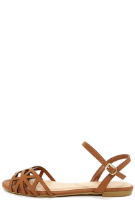 Bamboo Lynna 78 Chestnut Sandals
