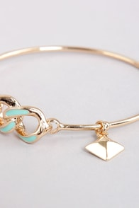 Everything to Chain Mint Bracelet at Lulus.com!