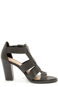 Report Rebecka Black High Heel Sandals