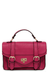 In the Bag Magenta Purse at Lulus.com!