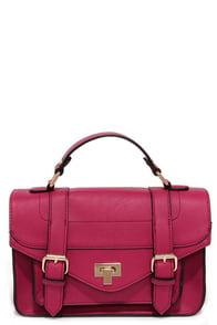 In the Bag Magenta Purse at Lulus.com!