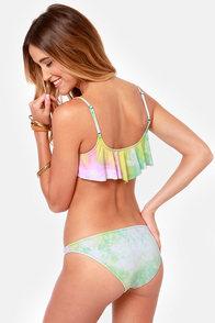 Volcom Color Blaze Tie Dye Bikini at Lulus.com!