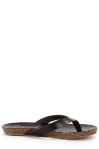 Blowfish Gisele Black Thong Sandals at Lulus.com!