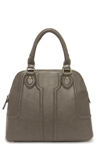 Open For Business Grey Handbag at Lulus.com!
