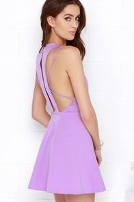Thrill Chic-er Orchid Purple Dress at Lulus.com!