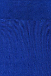 Sexy Bodycon Midi Skirt Royal Blue Skirt 43 00