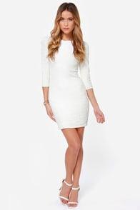 TFNC Paris White Sequin Dress at Lulus.com!