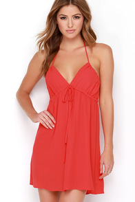 Sip of Sangria Red Dress at Lulus.com!