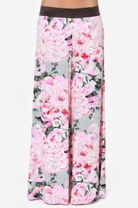 BB Dakota Sundra Pink Floral Print Palazzo Pants at Lulus.com!