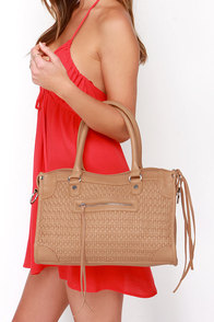 Homespun Honey Light Brown Handbag at Lulus.com!
