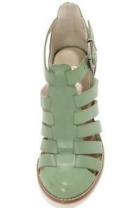 Seychelles In the Sky Seafoam High Heel Sandals at Lulus.com!