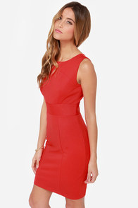 Darling Myleene Red Dress at Lulus.com!