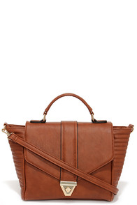 Run This Town Tan Handbag at Lulus.com!