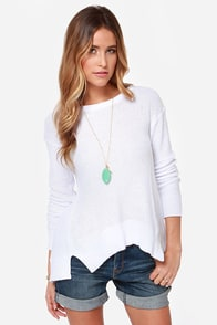 BB Dakota Kit Ivory Sweater at Lulus.com!