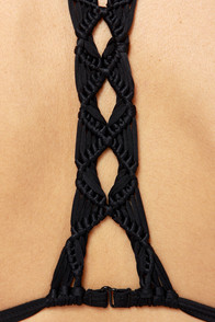 RVCA Iochroma Khat Black Bikini at Lulus.com!