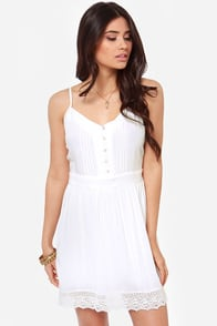 BB Dakota by Jack Abelia Ivory Dress