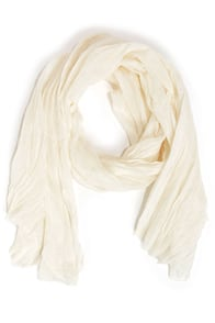 Fruit of the Heirloom Cream Scarf at Lulus.com!