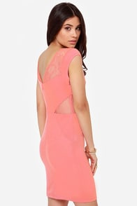 Jack by BB Dakota Adalira Pink Lace Dress at Lulus.com!