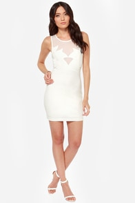 Fronds Have More Fun Ivory Dress at Lulus.com!