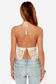 Somedays Lovin' Tambourine Cream Crochet Top at Lulus.com!