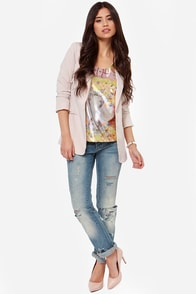 Fancy Pansies Floral Print Top at Lulus.com!