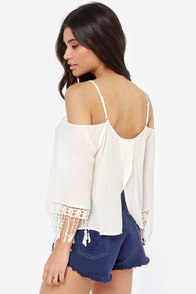 Fest Dressed Crochet Ivory Top at Lulus.com!