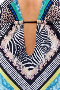 Obey Lorelei Multi Print One Piece Swimsuit at Lulus.com!