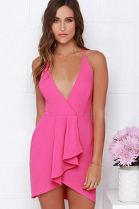 To Be Loved Fuchsia Dress at Lulus.com!