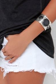Desert Island Silver Bracelet at Lulus.com!