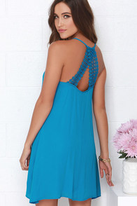 Dee Elle Sky Tones Blue Dress at Lulus.com!