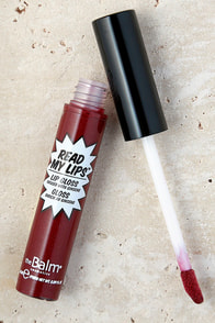 image The Balm Read My Lips Boom! Berry Lip Gloss