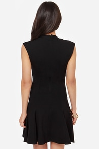 LULUS Exclusive Fine By Me Black Dress at Lulus.com!