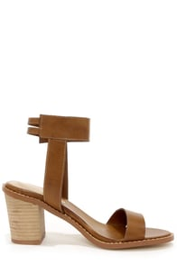 Chinese Laundry Cosmo Sugar Brown Ankle Strap Sandals at Lulus.com!