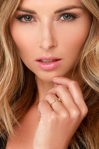 Forever and Ever Gold Knot Ring at Lulus.com!
