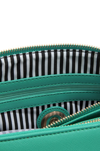 Brights Out Teal Handbag at Lulus.com!