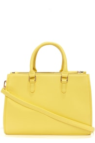 Brights Out Bright Yellow Handbag