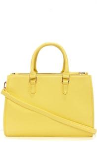 Brights Out Bright Yellow Handbag at Lulus.com!