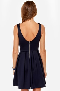 LULUS Exclusive Close to You Navy Blue Dress at Lulus.com!