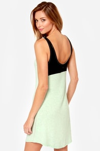 Hurley Tomboy Mint Green Dress at Lulus.com!