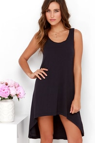 Simply Best Washed Black High-Low Dress at Lulus.com!