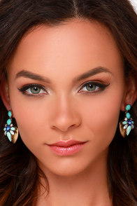 Splendid Spell Mint Earrings at Lulus.com!